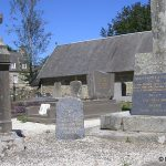 Folligny, stèle 2nd Lt Donald Markle