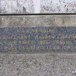 Lengronne, plaque Lieutenant Calhoun