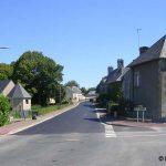 Trelly, l'entrée est du village