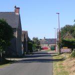 Macey, l'entrée du village