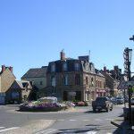 Pontorson, entrée ouest de la ville