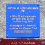 Pontorson, monument aérodrome A28