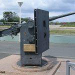 Courseulles-sur-Mer, canon anti-char allemand