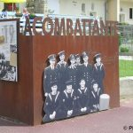 Courseulles-sur-Mer, monument la Combattante