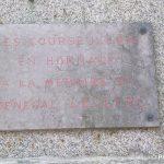 Courseulles-sur-Mer, plaque général Leclerc