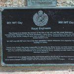 Courseulles-sur-Mer, plaque Royal Engineers