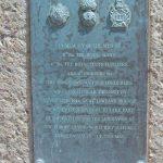 Courseulles-sur-Mer, plaque 44th Lowland Infantry Brigade
