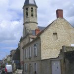 Courseulles-sur-Mer, l'église Saint-Germain du XVIIIe siècle