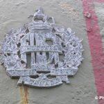 Courseulles-sur-Mer, plaque 6th Canadian Armoured Regiment 1st Hussars
