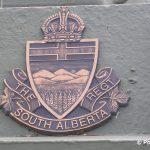 Courseulles-sur-Mer, plaque The South Alberta Regiment
