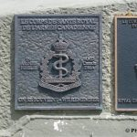 Courseulles-sur-Mer, plaque Royal Canadian Army Medical Corps