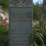 Hermanville-sur-Mer, monument Royal Artillery