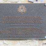 Hermanville-sur-Mer, plaque 2nd et 5th Battalions East Yorkshire Regiment