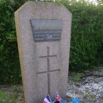 Hermanville-sur-Mer, stèle capitaine Wietzel