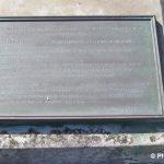 Lion-sur-Mer, stèle Président Franklin Roosevelt