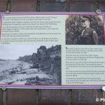 Saint-Aubin-sur-Mer, plaque Lieutenant Jack Weese
