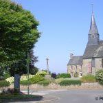 Aubusson, le centre du village