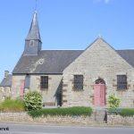 Aubusson, l'église Saint-Céneri du XVIIe siècle