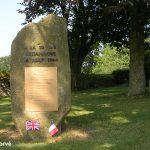 Aubusson, stèle 11st Armoured Division