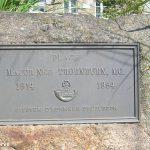 Aubusson, stèle Major Thornburn