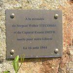 Aubusson, stèle Walter Titcombe et Ernest Smith