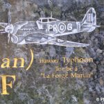 Sainte-Honorine-la-Chardonne, stèle aviateurs alliés