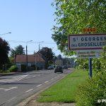 Saint-Georges-des-Groseillers, entrée de la ville