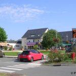 Saint-Georges-des-Groseillers, place de la mairie