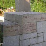Saint-Mars-d'Égrenne, monument 1st Lieutenant Morton Eustis
