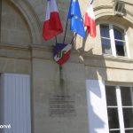 Sées, plaque de la Libération